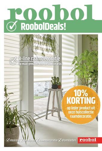 Roobol reclame folder (geldig t/m 19-10)
