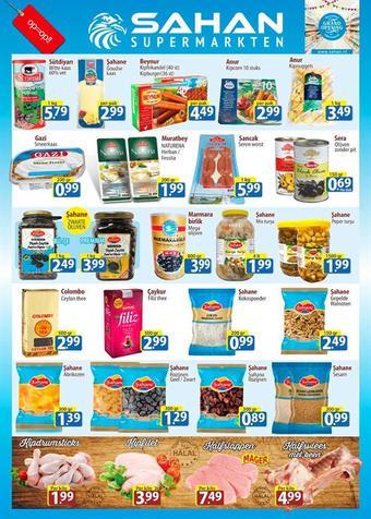 Sahan Supermarkten reclame folder (geldig t/m 31-12)