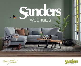 Sanders Meubelstad reclame folder (geldig t/m 31-05)