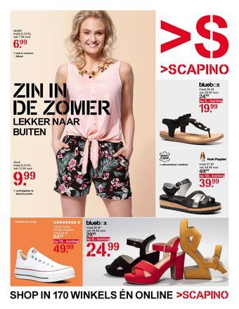 Scapino reclame folder (geldig t/m 19-05)