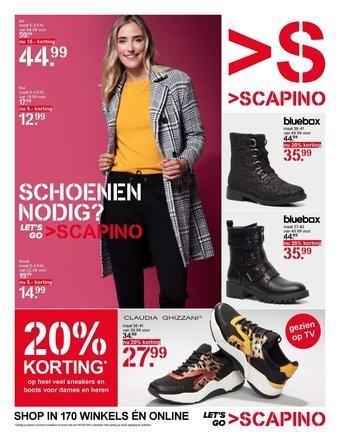 Scapino reclame folder (geldig t/m 29-09)