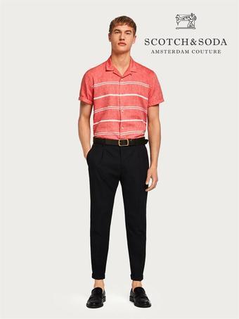 Scotch & Soda reclame folder (geldig t/m 29-07)