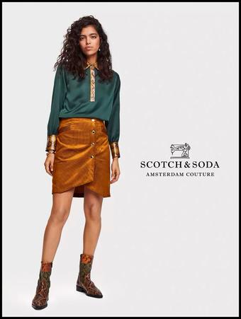 Scotch & Soda reclame folder (geldig t/m 29-02)