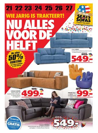 Seats and Sofas reclame folder (geldig t/m 27-10)