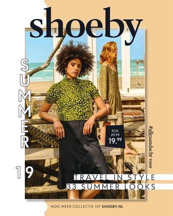 Shoeby reclame folder (geldig t/m 30-06)
