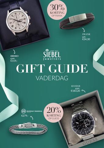 Siebel juwelier reclame folder (geldig t/m 16-06)
