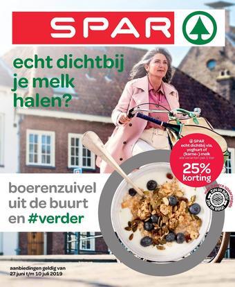 Spar reclame folder (geldig t/m 10-07)