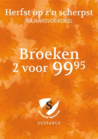 Suitable reclame folder (geldig t/m 24-11)