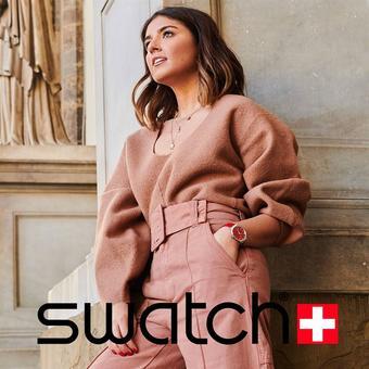 Swatch reclame folder (geldig t/m 27-05)