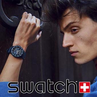 Swatch reclame folder (geldig t/m 26-08)