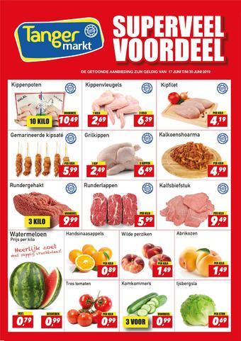 Tanger Markt reclame folder (geldig t/m 30-06)