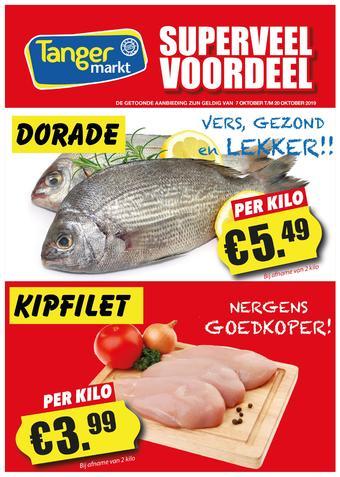 Tanger Markt reclame folder (geldig t/m 20-10)