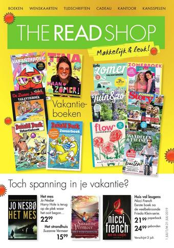 The Read Shop reclame folder (geldig t/m 21-07)