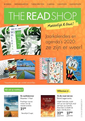 The Read Shop reclame folder (geldig t/m 22-09)
