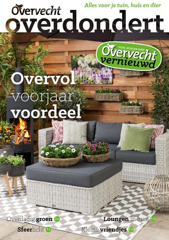 Tuincentrum Overvecht reclame folder (geldig t/m 30-06)