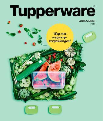 Tupperware reclame folder (geldig t/m 30-09)