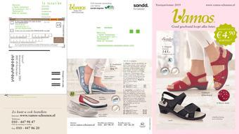 Vamos Schoenen reclame folder (geldig t/m 31-07)