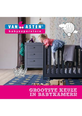 Van Asten BabySuperstore reclame folder (geldig t/m 30-06)