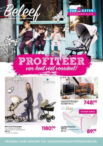 Van Asten BabySuperstore reclame folder (geldig t/m 31-07)