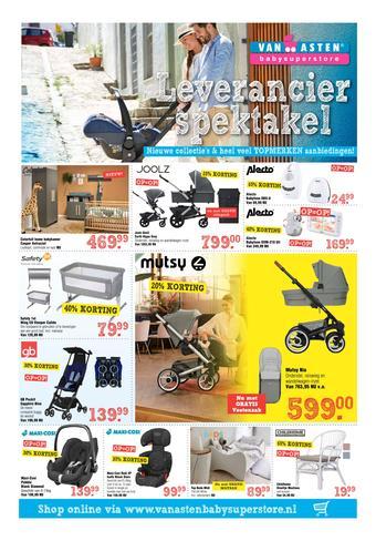 Van Asten BabySuperstore reclame folder (geldig t/m 14-09)