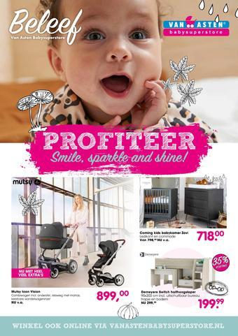 Van Asten BabySuperstore reclame folder (geldig t/m 31-01)