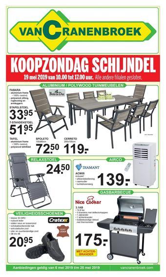 Van Cranenbroek reclame folder (geldig t/m 25-05)