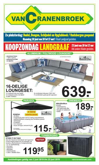 Van Cranenbroek reclame folder (geldig t/m 23-06)
