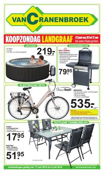 Van Cranenbroek reclame folder (geldig t/m 06-07)