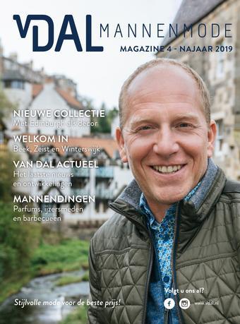 Van Dal Mannenmode reclame folder (geldig t/m 31-01)