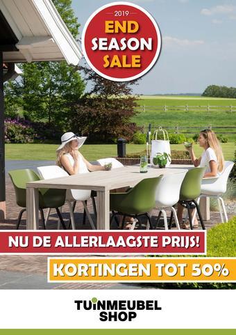 Van der Garde tuinmeubelshop reclame folder (geldig t/m 25-08)