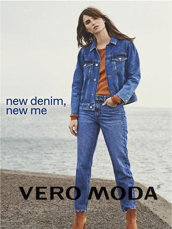 Vero Moda reclame folder (geldig t/m 09-10)