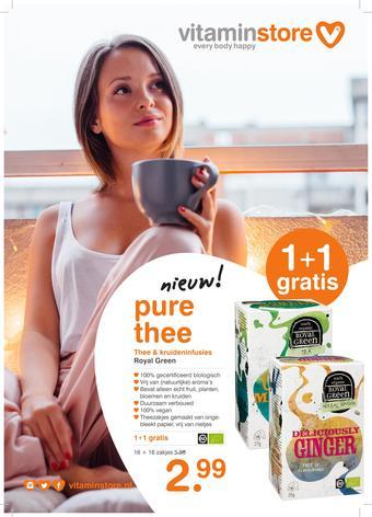 Vitaminstore reclame folder (geldig t/m 02-09)