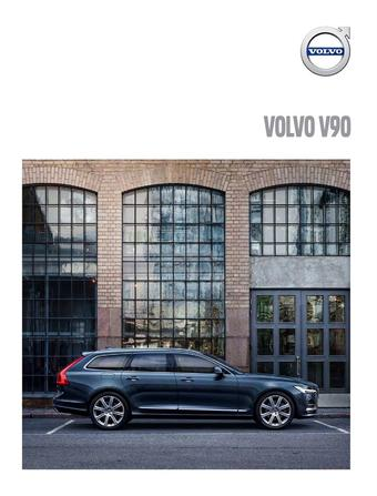 Volvo reclame folder (geldig t/m 20-01)
