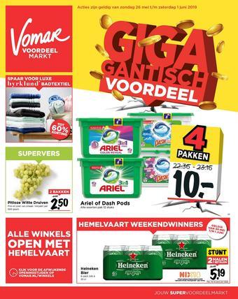 Vomar reclame folder (geldig t/m 01-06)