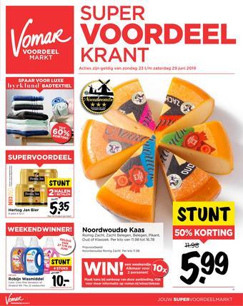 Vomar reclame folder (geldig t/m 29-06)