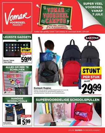 Vomar reclame folder (geldig t/m 25-08)