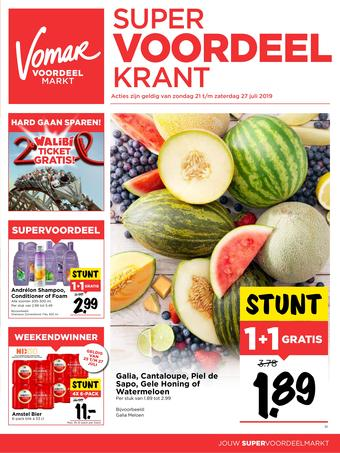 Vomar reclame folder (geldig t/m 27-07)