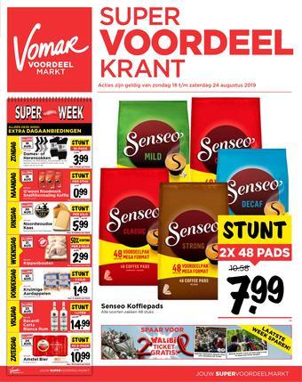 Vomar reclame folder (geldig t/m 24-08)