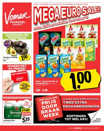 Vomar reclame folder (geldig t/m 31-08)