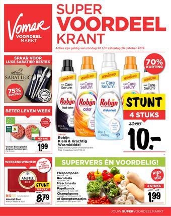 Vomar reclame folder (geldig t/m 26-10)