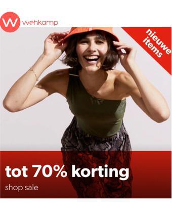 Wehkamp reclame folder (geldig t/m 28-07)