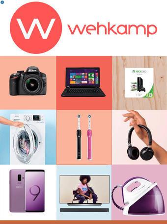 Wehkamp reclame folder (geldig t/m 31-10)