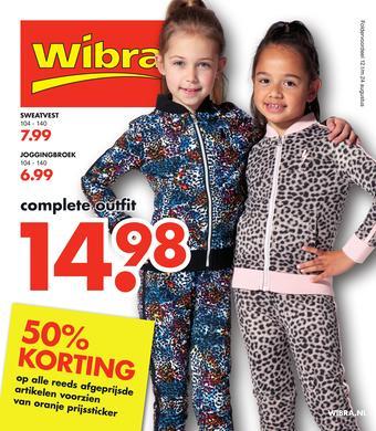 Wibra reclame folder (geldig t/m 24-08)