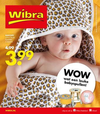 Wibra reclame folder (geldig t/m 21-09)