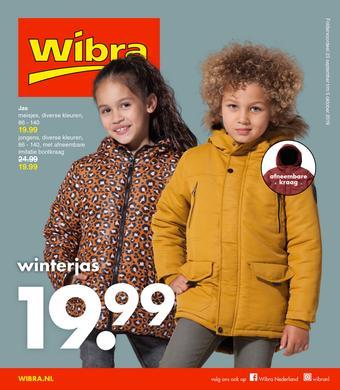 Wibra reclame folder (geldig t/m 05-10)