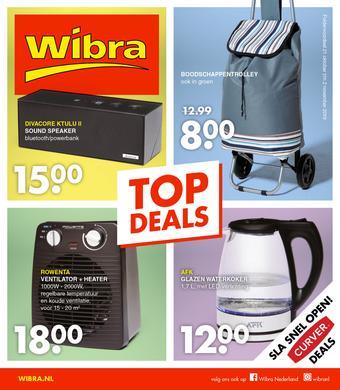 Wibra reclame folder (geldig t/m 02-11)