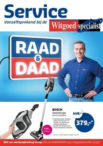 Witgoed specialist reclame folder (geldig t/m 02-06)