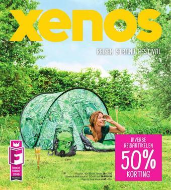 Xenos reclame folder (geldig t/m 09-06)