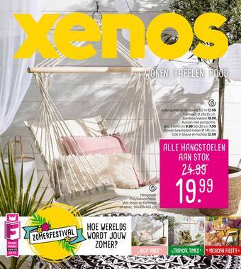 Xenos reclame folder (geldig t/m 02-06)