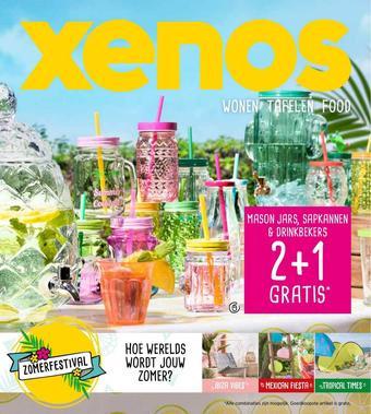 Xenos reclame folder (geldig t/m 30-06)